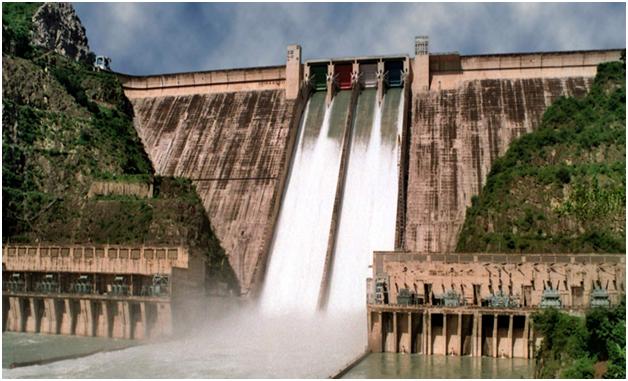 Largest Dam in India- Bhakra Nangal Dam