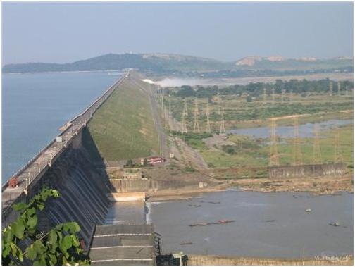 Largest Dam in India- Hirakud Dam