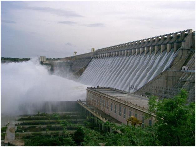 Largest Dam in India-Nagarjuna Sagar Dam