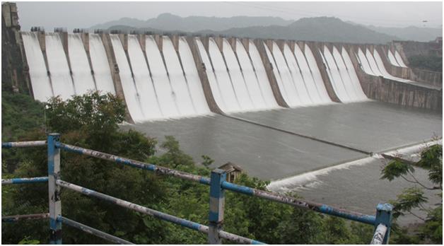Largest Dam in India-Sardar Sarovar Dam