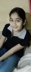 Rushi at her home