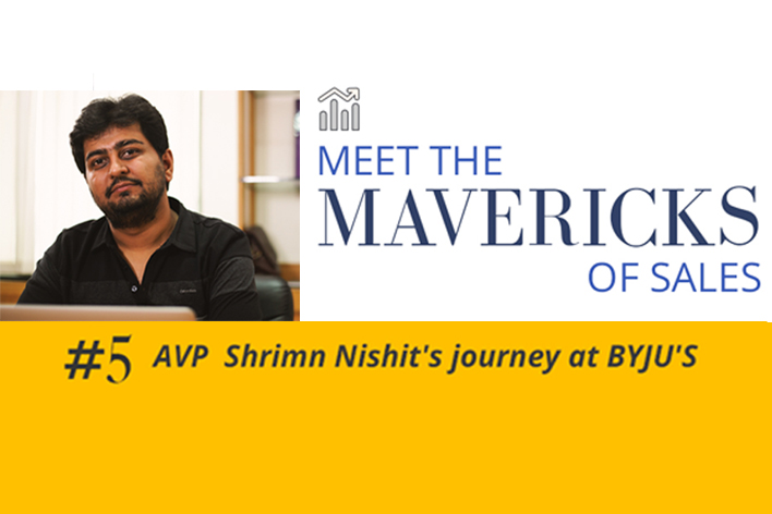 Shrimn Nishit on scaling his Growth with BYJU'S
