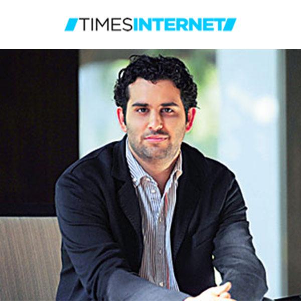 Satyan Gajwani, Vice Chairman, Times Internet