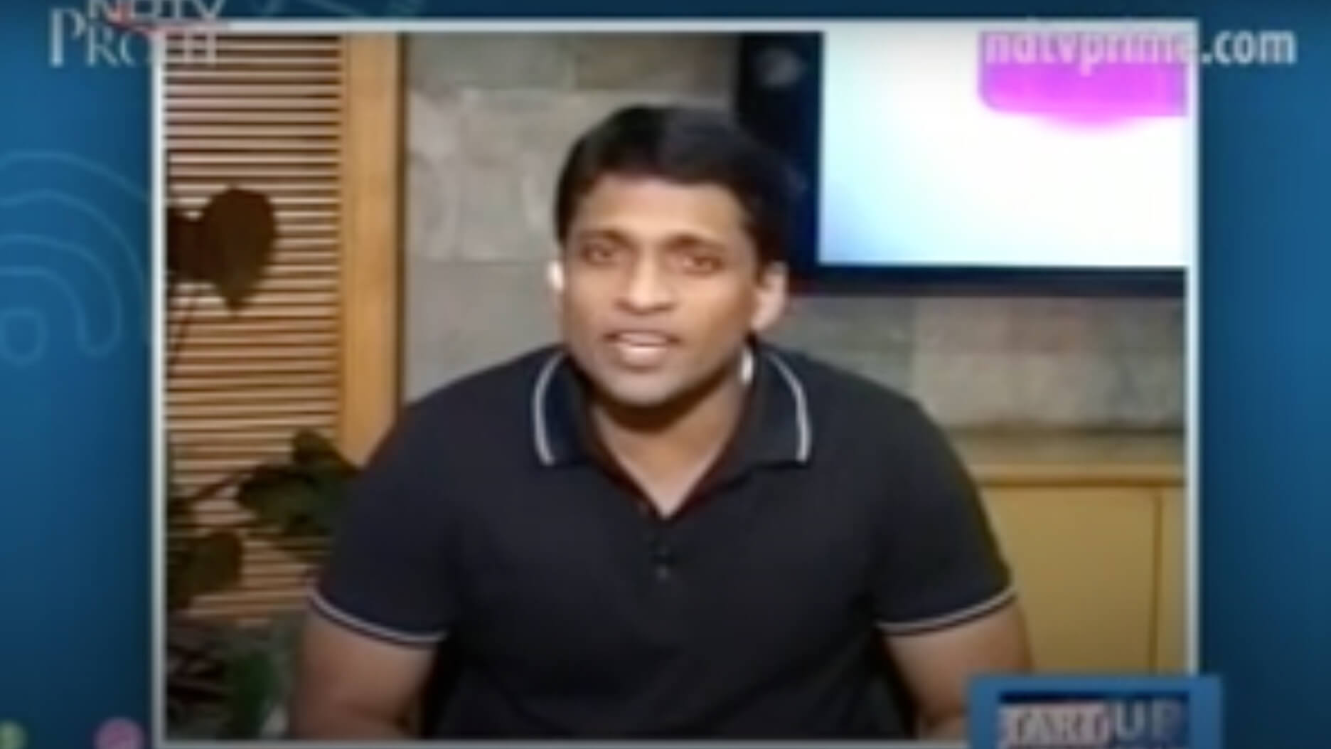 Byjus on NDTV