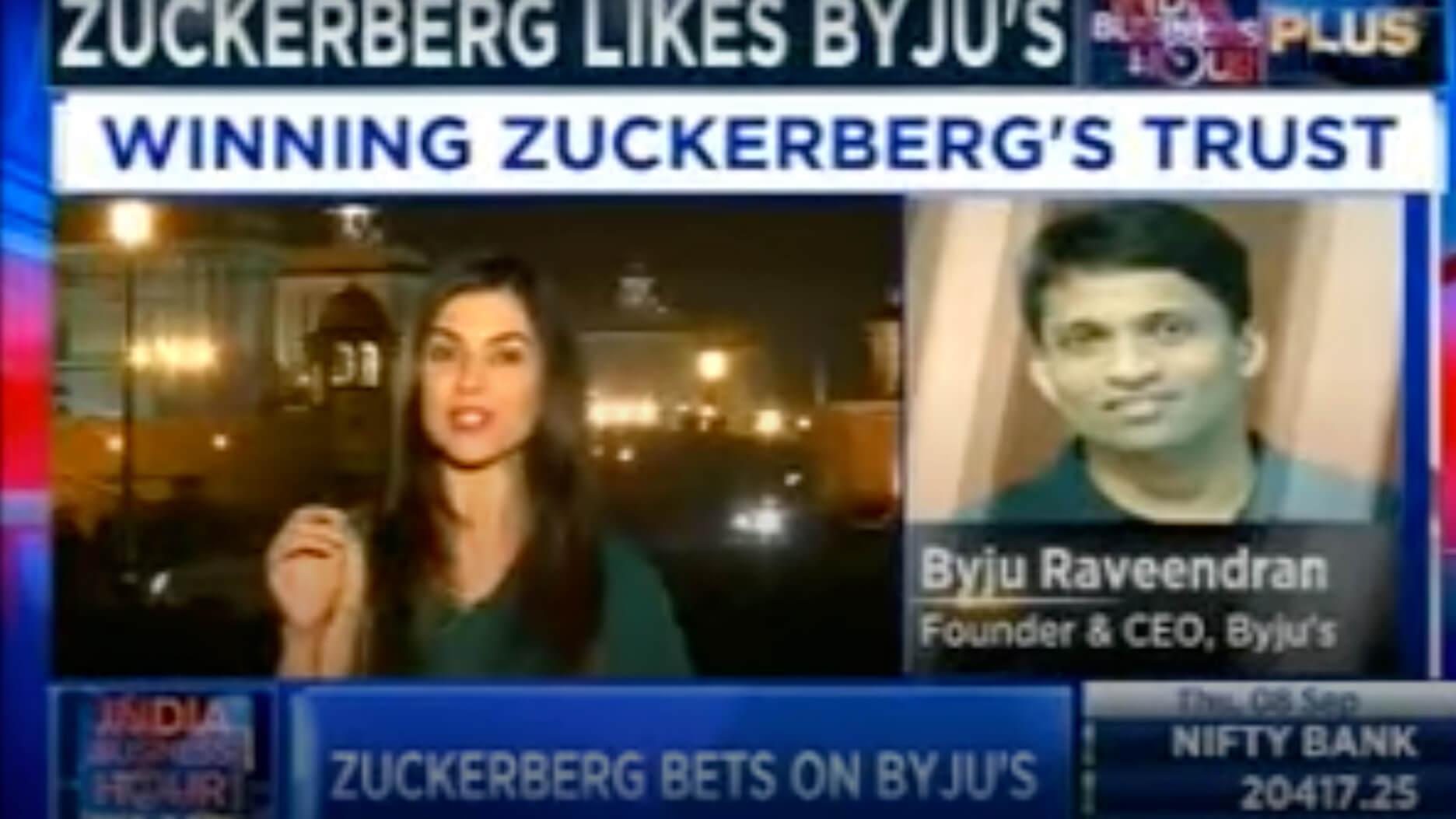 CNBC Speaks about Byju