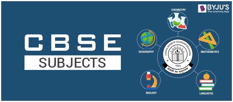 CBSE Subjects