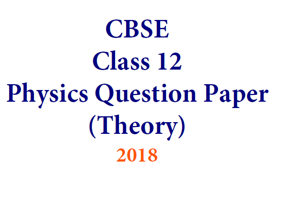 Question Paper Analysis Physics 1