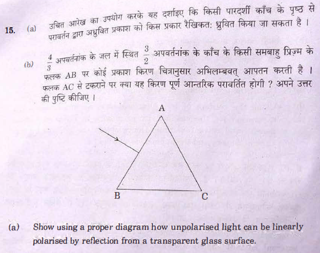 Question Paper Analysis Physics 18