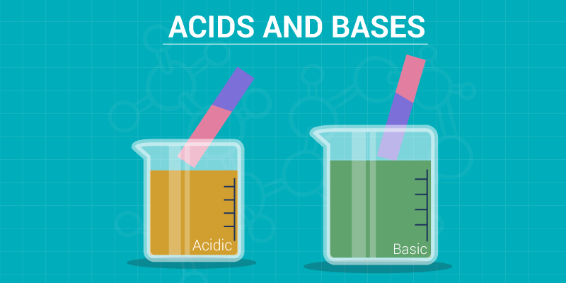 Acids and bases - properties of acids and bases, differences