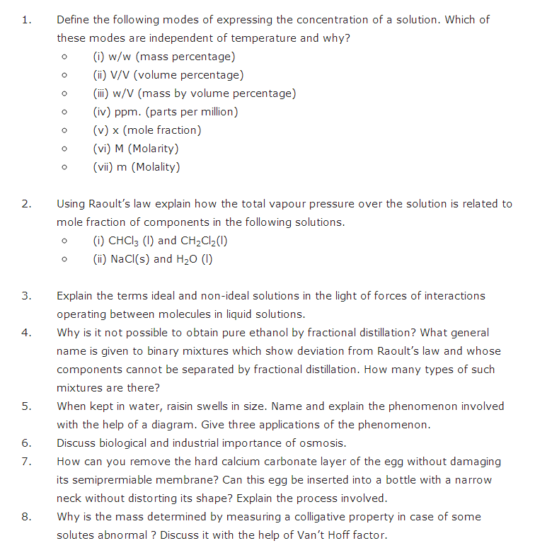 important questions class 12 chemistry chapter 2 solutions 5