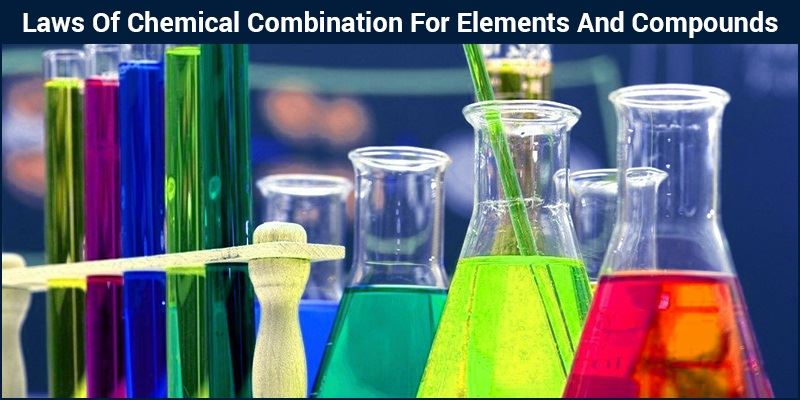 Laws Of Chemical Combination Elements And Compounds Molecules
