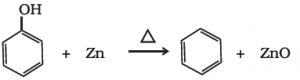 reduction of phenol