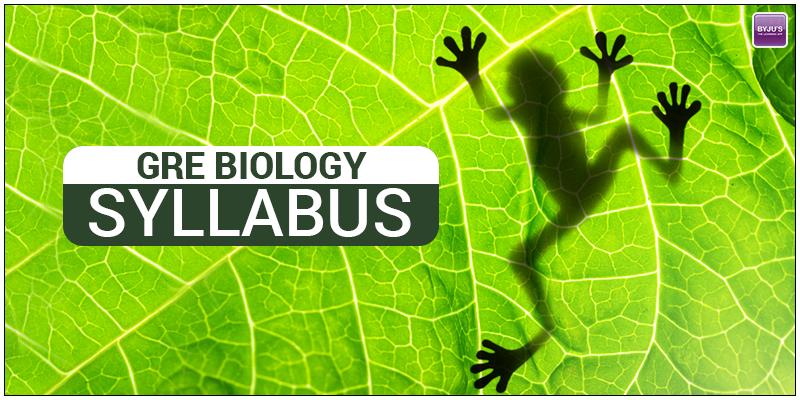 GRE Biology Syllabus