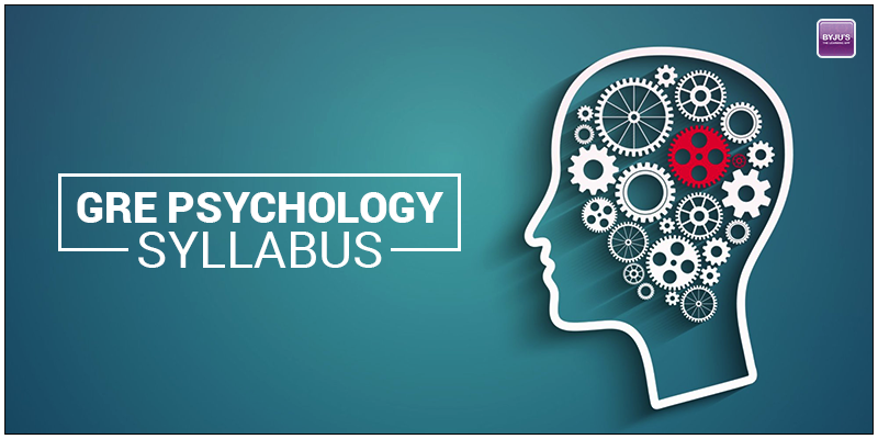 GRE Psychology Syllabus