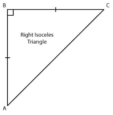Right Isosceles Triangle
