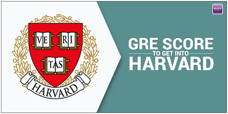 Harvard GRE Score