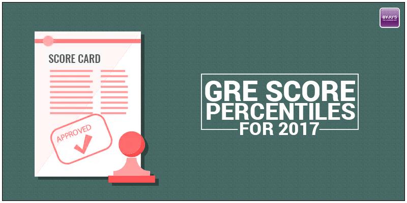 GRE Score Percentiles for 2017