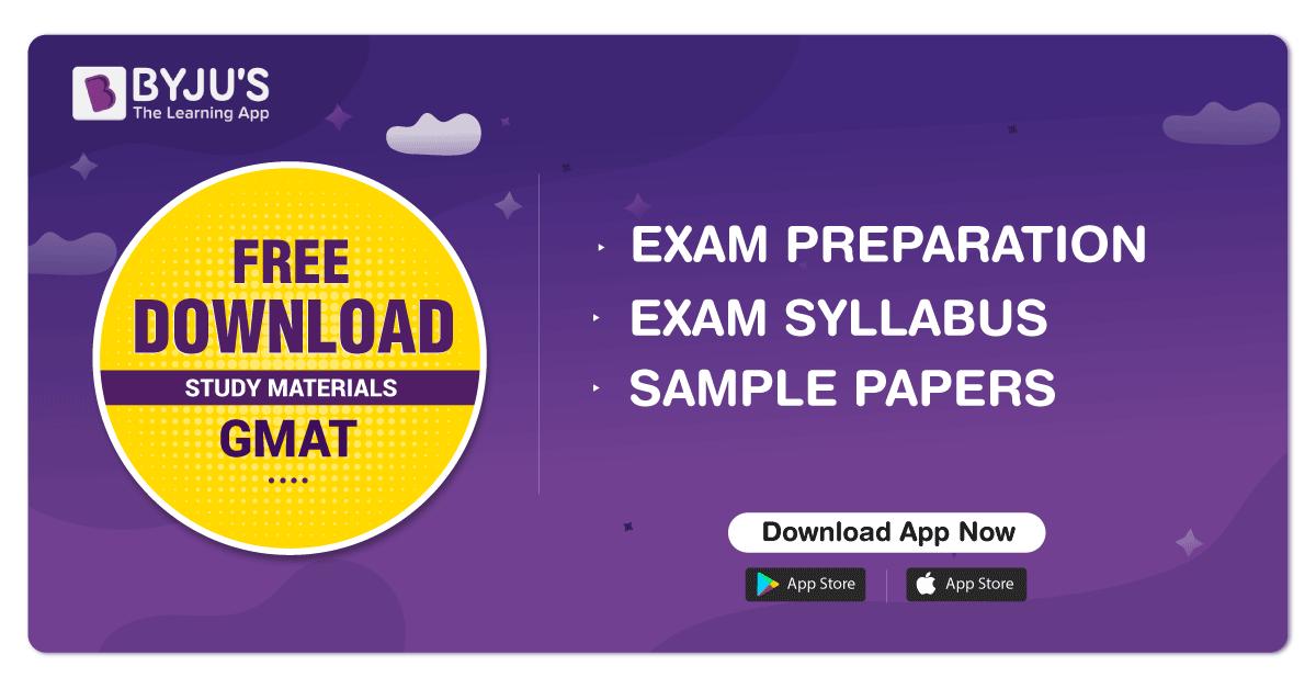 GMAT Syllabus   New GMAT Exam Syllabus 2019 - 2020   Score