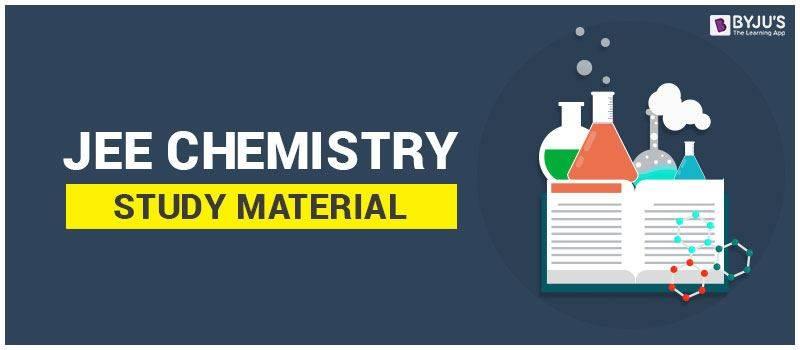 IIT JEE Chemistry Study Material