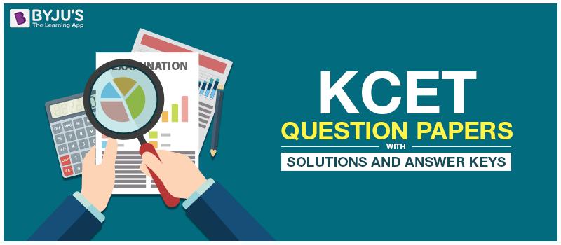 KCET Question Papers
