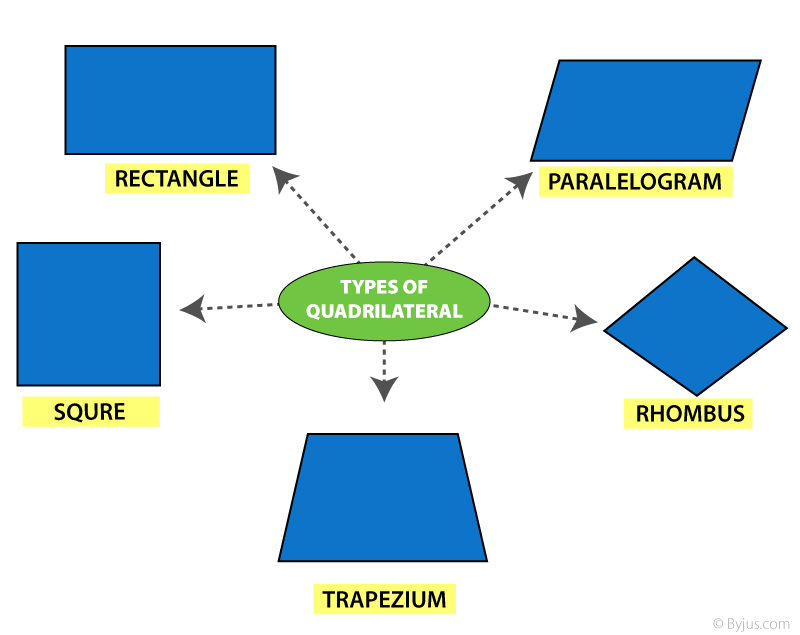 Quadrilateral & its Types