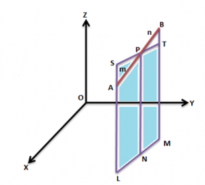 Section Formula in 3D
