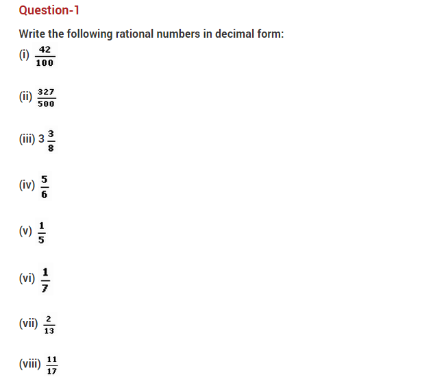 important questions class 10 maths chapter 1 real numbers 1