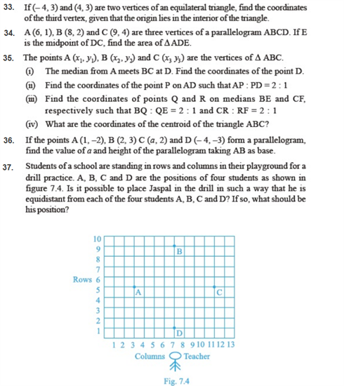 important questions class 10 maths chapter 7 coordinate geometry 4