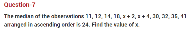 Important Questions Class 10 Maths Chapter 14 statistics Part 7