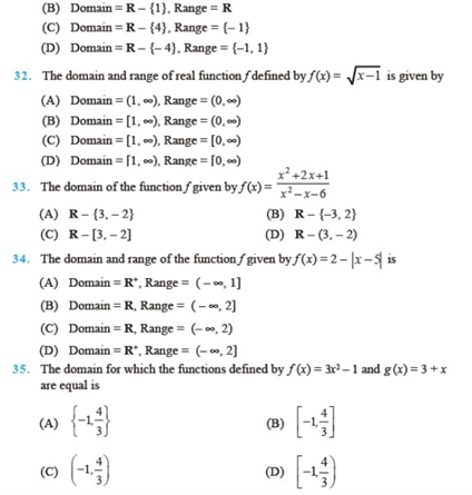 important questions class 11 maths chapter 2 relations functions 5