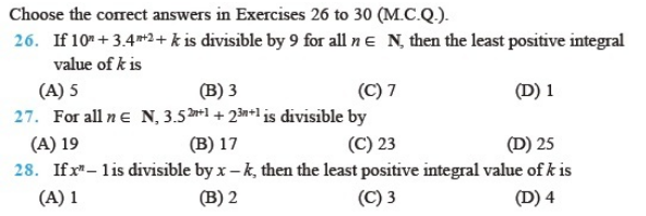 Important Questions Class 11 Maths Chapter 4 Principles Mathematical Induction Part 3