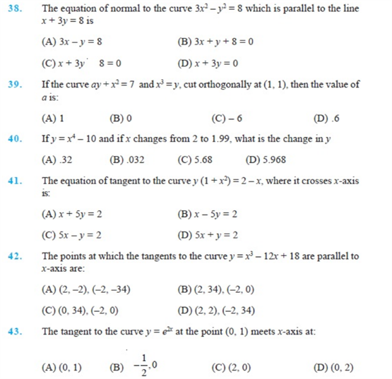 Important Questions Class 12 maths Chapter 6 Applications Derivatives Part 5