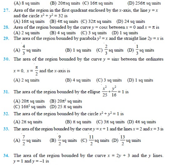 important questions class 12 maths chapter 8 applications integrals 3