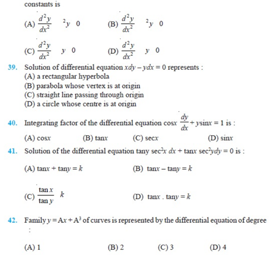 important questions class 12 maths chapter 9 differential equations 5