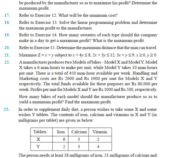 important questions class 12 maths chapter 12 linear programming 6
