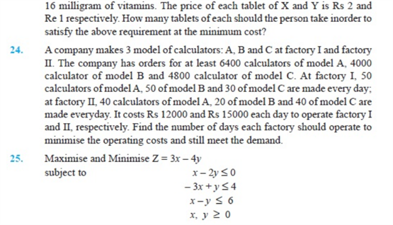 important questions class 12 maths chapter 12 linear programming 7