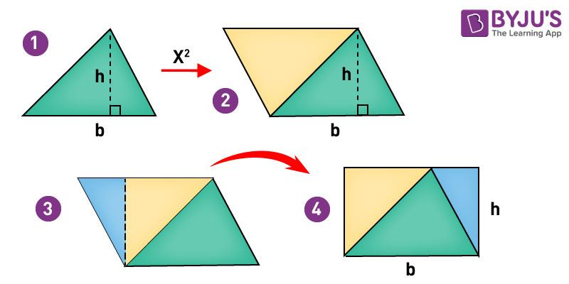 right angled triangle formulas pdf
