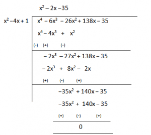 NCERT Solutions Class 10 Maths Chapter 2 Polynomials EXERCISE 2.3 Question 4