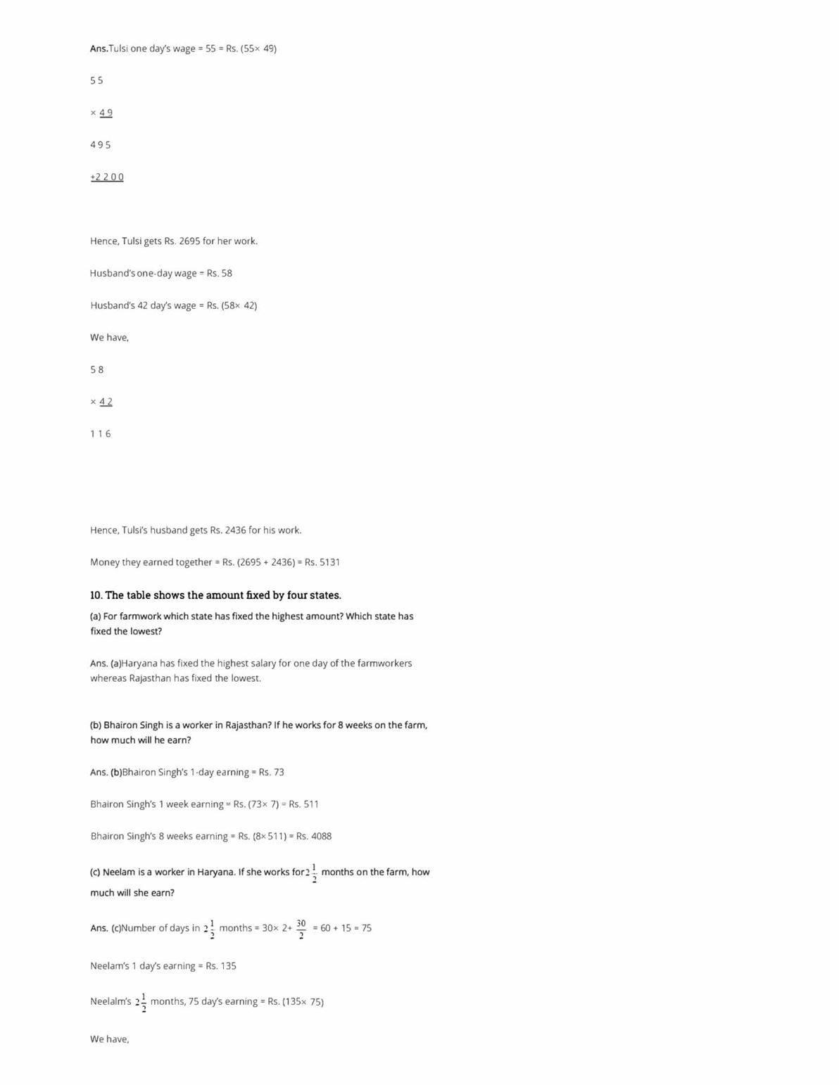 NCERT Solutions Class 5 Maths Chapter 13