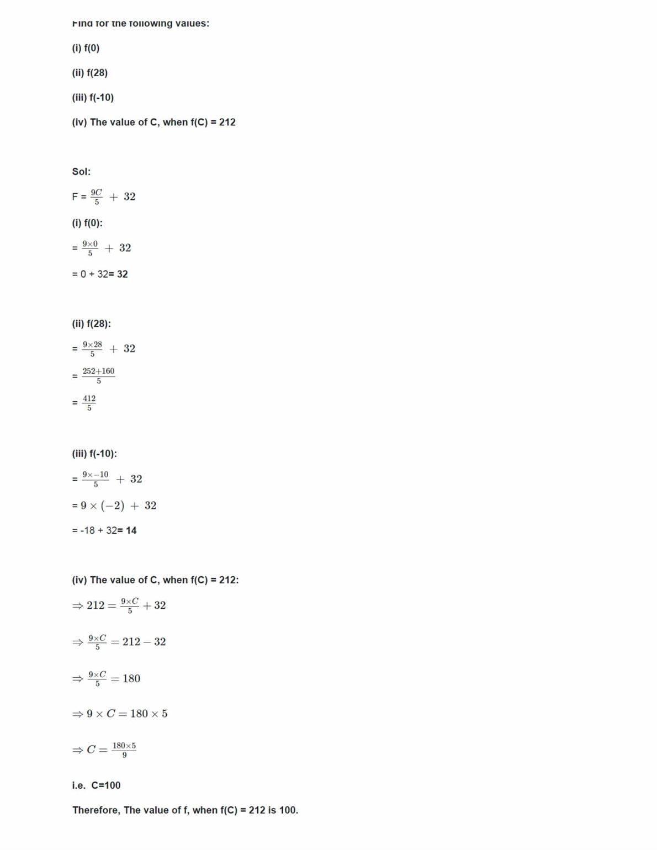Class 11 Maths Ncert Solutions Chapter 2 Ex 2.3