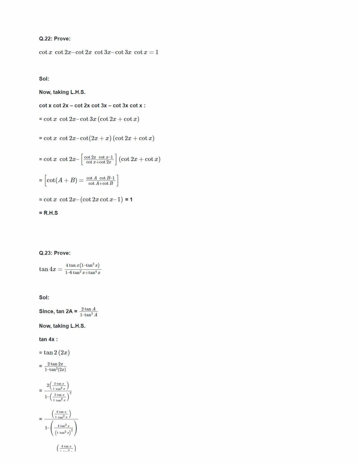 Tn xi std maths guide tn plus two answer key march 2018 array ncert solutions class 11 maths chapter 3 trigonometric functions ex rh byjus com fandeluxe Gallery