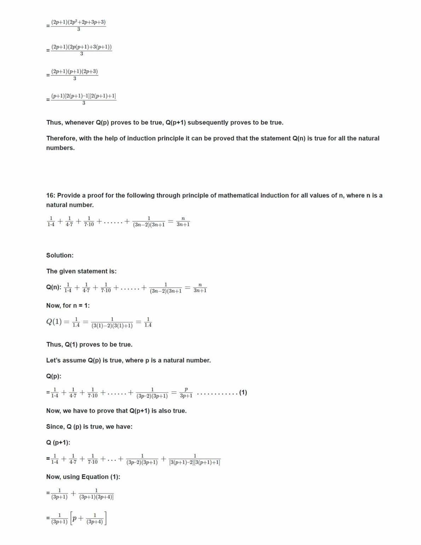 Class 11 Maths Ncert Solutions Chapter 4 Ex 4.1