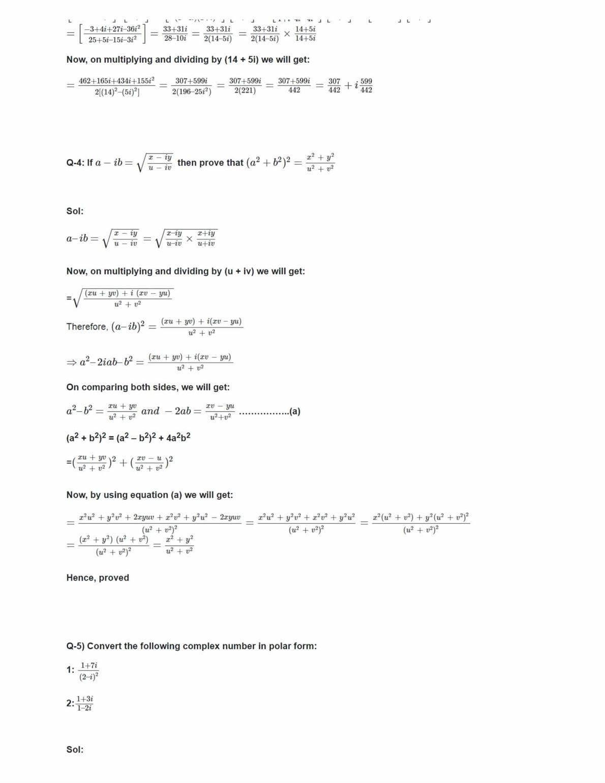 Class 11 Maths Ncert Solutions Chapter 5 Ex 5.3
