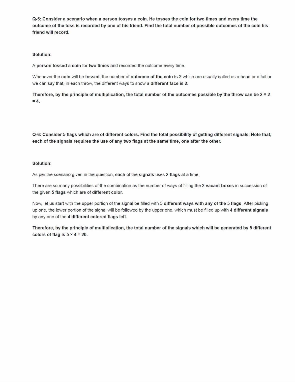 Class 11 Maths Ncert Solutions Chapter 7 Ex 7.1