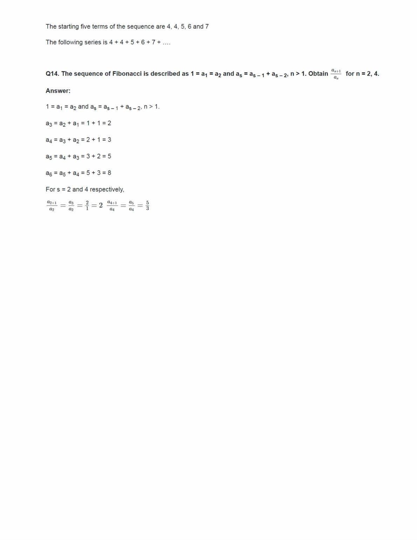 Class 11 Maths Ncert Solutions Chapter 9 Ex 9.1