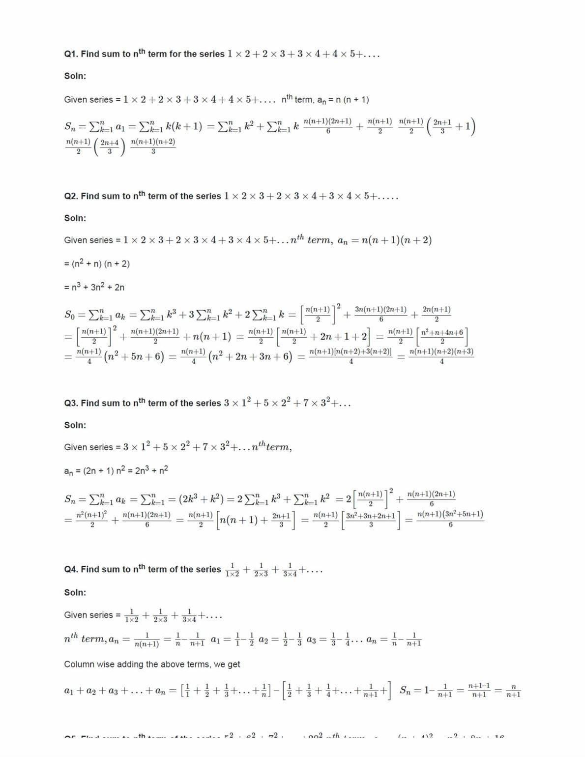Class 11 Maths Ncert Solutions Chapter 9 Ex 9.4