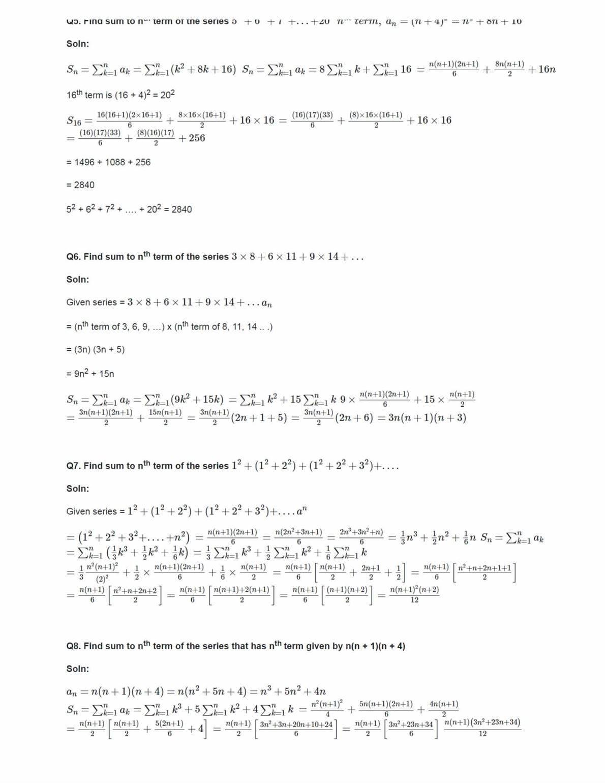 Class 11 Maths Ncert Solutions Chapter 9 Ex 9.4