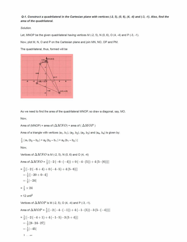 Class 11 Maths Ncert Solutions Chapter 10 Ex 10.1