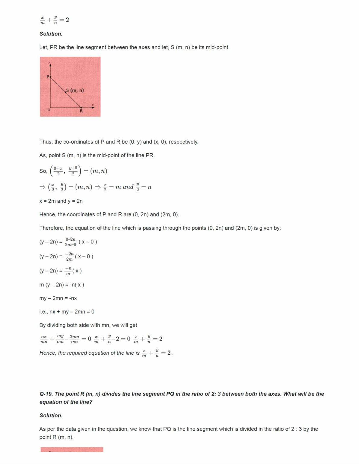 Class 11 Maths Ncert Solutions Chapter 10 Ex 10.2