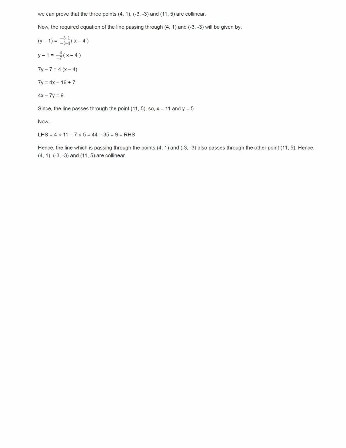 Class 11 Maths Ncert Solutions Chapter 10 Ex 10.3